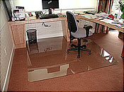 Custom Sized Office Chair Mats