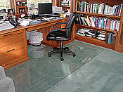 Custom Home Office Chair Mats