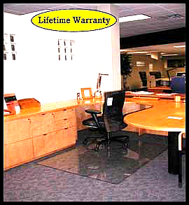 Office floor mats lifetime warranty
