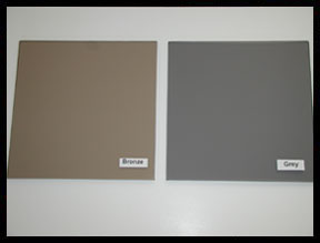 Tinted Custom Color Chair Mats