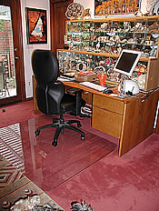 Carpeted Home Office Chair Mats