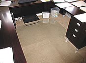 Custom Size Chair Mat for Corporate office area