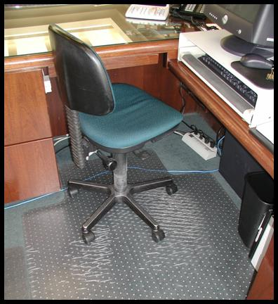 AFTER GlassMat Glass Chair Mats